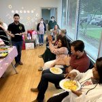 baby shower with mid cities psychiatry staff
